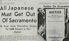 All Japanese Get Out of Sacramento
